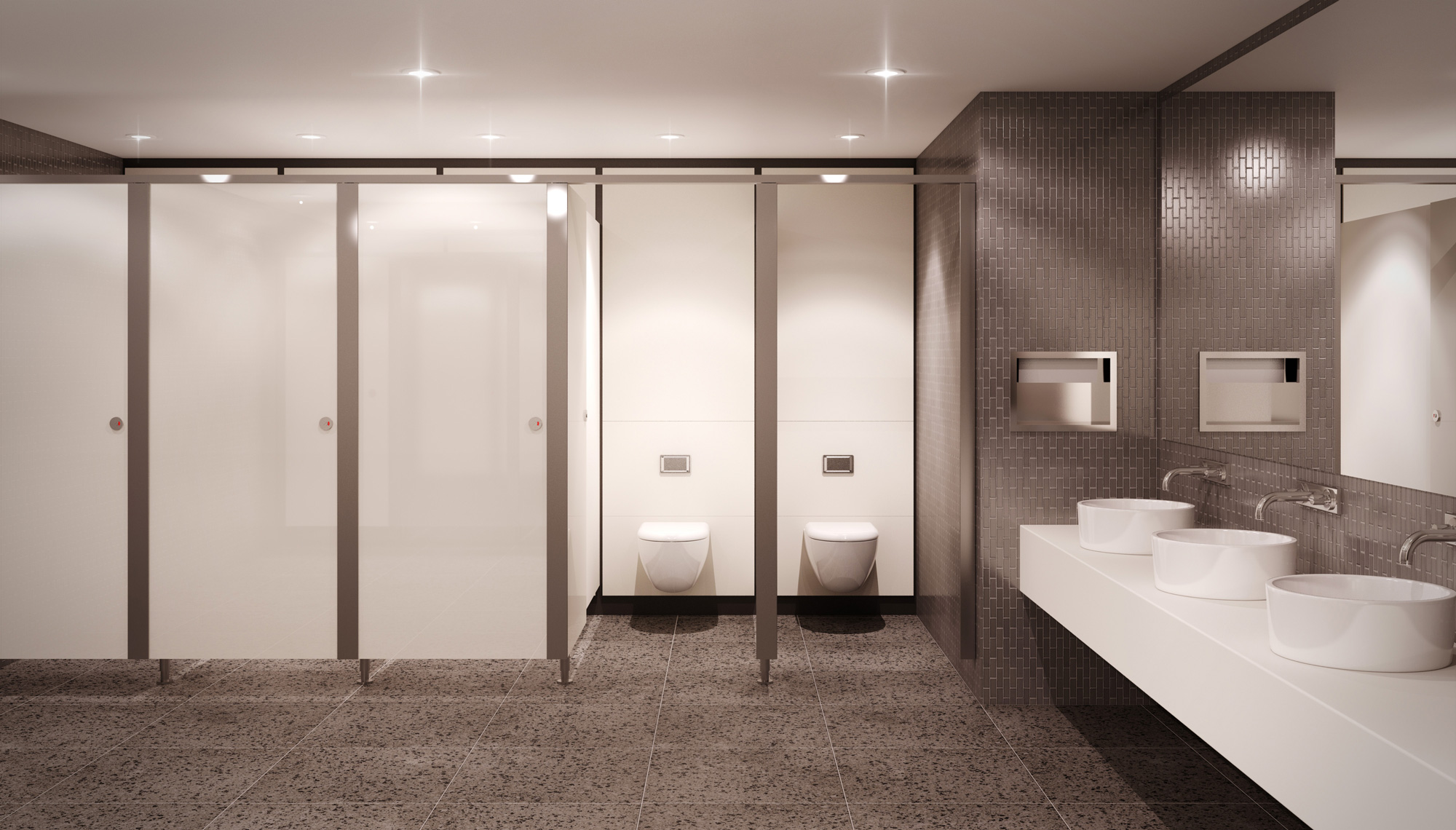 Ethos Cubicle Formwise Washrooms