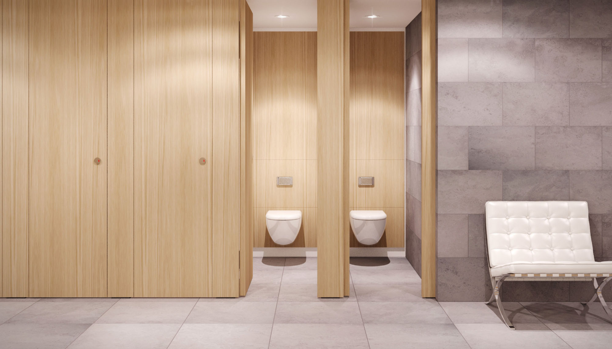 Edge Cubicle Formwise Washrooms